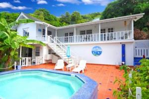 Bequia Orchard House Belmont Caribbean